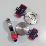 شیر پروانه ای خلاء - شیر وکیوم - vacuum valve